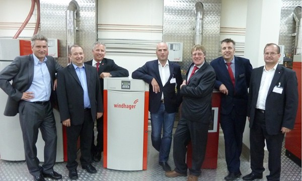 A press event organised by Vantage. Attended by editors and journalists for the opening of a new biomass training facility.