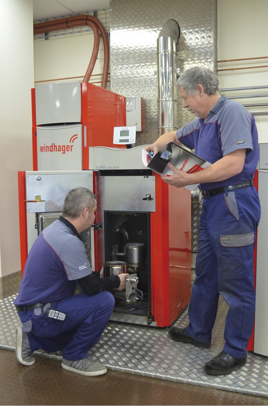 biomass boilers, renewable energy client, training centre, this and HETAS course promoted in the press